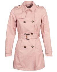 S.oliver Trenchcoat 04-899-61-5060-90g19 - Roze