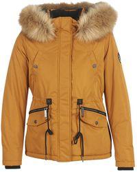 Superdry Parka Alpine Microfibre Jacket - Marrone