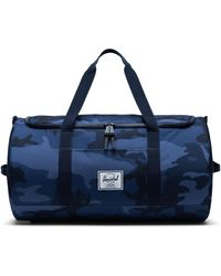 Herschel Supply Co. Bolsa de viaje Sutton Peacoat Camo - Azul