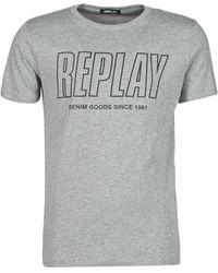 Replay T-Shirt M3395-2660 - Grigio