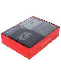 Calvin Klein Calcetines ECH644 - Gris