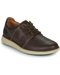 Clarks Zapatos Hombre UN LARVIKLACE2 - Marrón