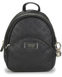 Guess Rugzak Logo Love Bradyn Backpack - Zwart