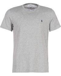 Polo Ralph Lauren T-shirt Korte Mouw S/s Crew-crew-sleep Top - Grijs