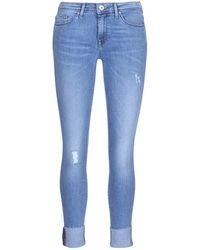 ONLY - Carmen Women's Skinny Jeans In Blue - Lyst