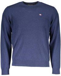 Napapijri - Sweater Men N0ygpb Damavand Crew Sweater - Lyst
