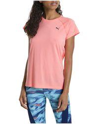 PUMA T-shirt Korte Mouw Nightcat S/s Tee - Roze