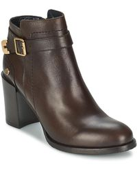 Tommy Hilfiger - Penelope 3a Women's Low Ankle Boots In Brown - Lyst