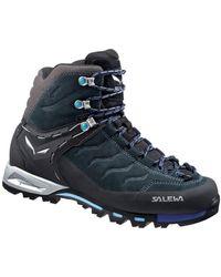 Salewa Ws Mtn Trainer Mid Gtx Women's Walking Boots In Black