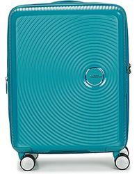 American Tourister Hartschalenkoffer SOUNBOX 55CM - Blau