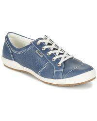 Josef Seibel - Caspian Women's Shoes (trainers) In Blue - Lyst
