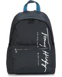 Tommy Hilfiger Zaini Th Signature Backpack - Nero