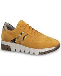 Femmes Chaussures En 23741 Jaune Multicolore TlK1cF3J