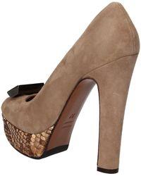 Gianni Marra - Escarpins beige daim AD117 Chaussures escarpins - Lyst