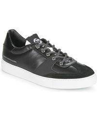 John Galliano Lage Sneakers 3565 - Zwart