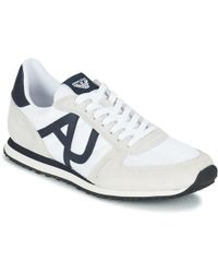 Armani Jeans - Jampra Men's Shoes (trainers) In White - Lyst