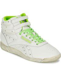 Reebok Hoge Sneakers F/s Hi - Wit