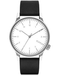 Komono Horloge - Winston Hunter - Metallic