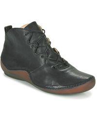 Think! KAPSL Chaussures - Noir