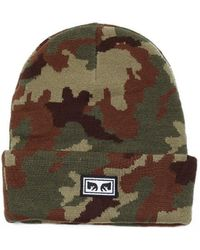 Obey Muts Icon Eyes Beanie - Groen