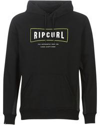 Rip Curl Sweater Stretched Out Fleece - Zwart