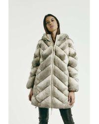 Max & Moi - Down Jackets Ninja Beige Woman Autumn/winter Collection Women's Coat In Beige - Lyst