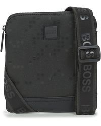 BOSS by Hugo Boss Sacoche HYPER P S ZIP - Noir