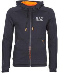 EA7 Sweater Ventus7 M Hoodie Fz Graphic - Zwart