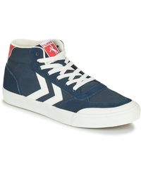 Hummel STADIL 3.0 CLASSIC HIGH Chaussures - Bleu