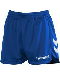 Hummel Korte Broek Short Classic Lady - Blauw