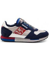 Napapijri Virtus white/red/navy hommes Chaussures en bleu