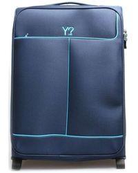 Y Not? ? J-7002 Soft Suitcase - Blue