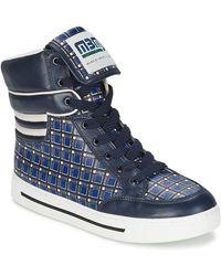 Marc By Marc Jacobs Hoge Sneakers Cute Kids Mini Toto Plaid - Blauw