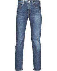Levi's Straight Jeans Levis 502 Regular Taper - Blauw