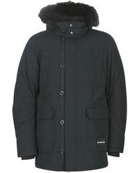 Calvin Klein Parka Jas Fur Trimmed Hooded Down Parka - Zwart