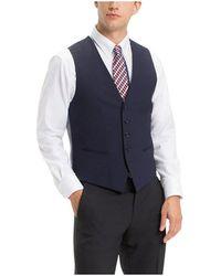 Tommy Hilfiger Veston De Costume Gilets de costume - Bleu