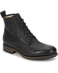 Blackstone MID LACE UP BOOT FUR Boots - Noir
