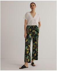 Woman El Corte Inglés 02E7899 Pantalon - Multicolore