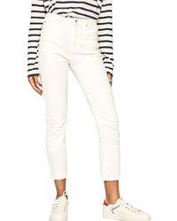 Pepe Jeans Jeans 3/4 & 7/8 PL203203D76L - Blanc