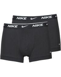 Nike Boxer Everyday Cotton Stretch - Nero