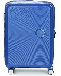 American Tourister Reiskoffer Soundbox 67cm 4r - Blauw