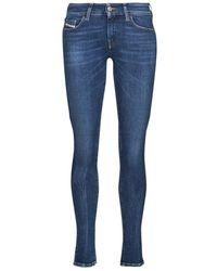 DIESEL Jeans Skynny Slandy-Low - Blu