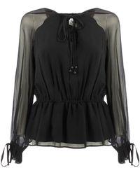 Twin Set JS82NA shirts Noir Blouses