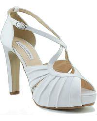 Ángel Alarcón Bridal Shoes Court Shoes - White