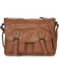 Casual Attitude Nudile Messenger Bag - Brown