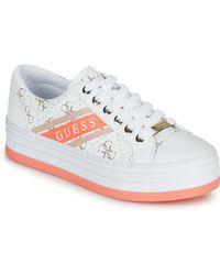 Guess Sneakers Basse Barona - Bianco