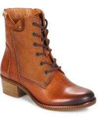 Pikolinos - Zaragoza W9h Women's Mid Boots In Brown - Lyst
