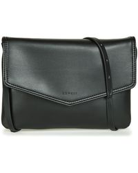aaf7c45942c7 Esprit - Lara Small Shoulder Bag Women s Shoulder Bag In Black - Lyst