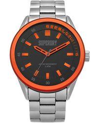 Superdry Reloj analógico Regent Corporal SYG207BSM - Multicolor