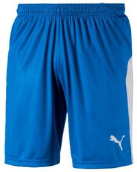 PUMA Korte Broeken Liga Shorts - Blauw